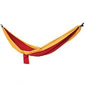 Гамак туристический Spokey Cocoon 140х280 см, нейлон, красный с оранжевым