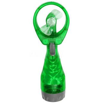 Вентилятор ручний з розпилювачем води, Water Spray Fan Зелений