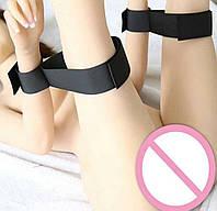 Бондаж ремни манжеты на руки и ноги для ролевых игр БДСМ наручники BDSM товары кляп плётка кнут оргазм секс