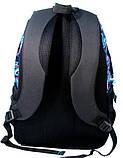 Рюкзак PASO с узорами 33 л Черно-синий (14-1208B), фото 3