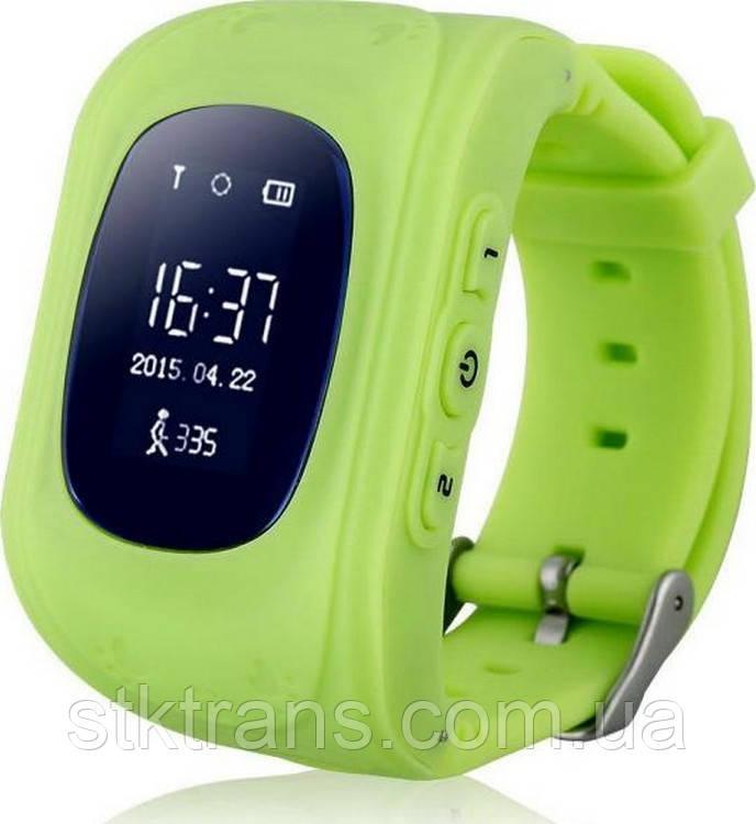 Детские смарт-часы Smart Watch Q50 Зеленые (14-SBW05)