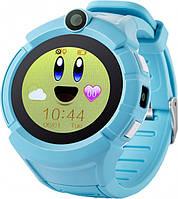 Детские смарт-часы Smart Watch Q610 Голубые (14-SBW-Q610-04)