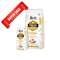 Сухой корм для собак Brit Fresh Chicken with Potato Adult Great Life 12 кг