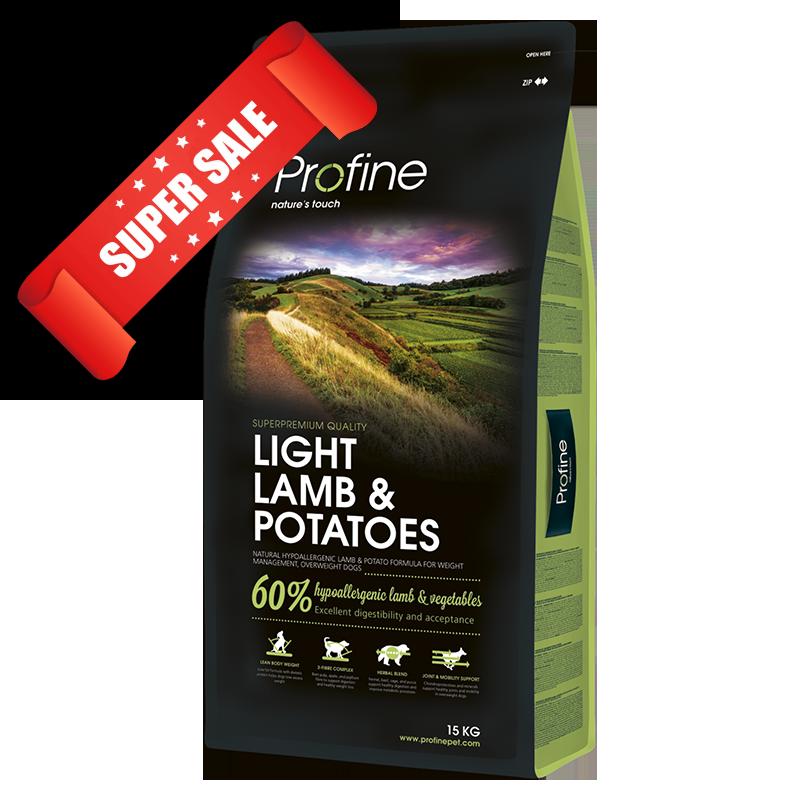 Сухой корм для собак Profine Light Lamb & Potatoes 3 кг
