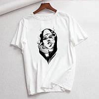 Стильная женская футболка с принтом