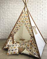 Вигвам детская игровая палатка «Шалаш Лисенка»