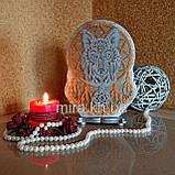Соляной светильник Ловец снов цветной, фото 2