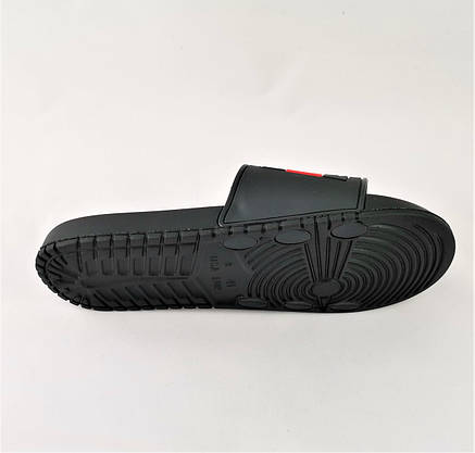 Шлёпанцы Тапочки TOMMY Jeans Сланцы Чёрные Мужские (размеры: 44), фото 2