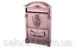 Почтовый ящик Vita - Дева Мария (коричневый)