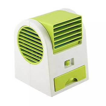 Портативный кондиционер M+ Mini Fan USB Green
