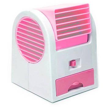 Портативный кондиционер M+ Mini Fan USB Pink