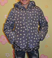 Куртка  бантик (плотная плащёвка+150 синтепон+подкладка флис)-2