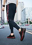 Кроссовки Fashion сетка черно-красные, фото 4