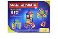 Магнитный конструктор MAGFORMERS, 38 деталей (006A)