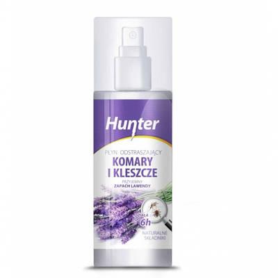Натуральный спрей от комаров и клещей Hunter 100 ml