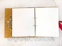 """Фотоальбом """"Инициалы"""" с калькой Дуб (листы 31х25 см), фото 6"""