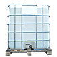 Еврокуб - емкость двухслойная пищевая на 1000 л в обрешетке ЕК1000, фото 2