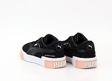 Женские кроссовки Puma Cali. Black. ТОП реплика ААА класса., фото 2