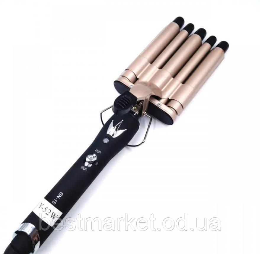 Плойка для Волос 5 Волн Sonar SN-15 с Керамическим Покрытием