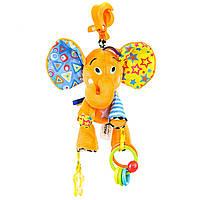 Игрушка-подвеска Mioobaby Веселый слоник (DS992)