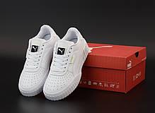 Мужские кроссовки Puma Cali.  White. ТОП Реплика ААА класса., фото 3
