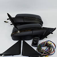 Боковые Зеркала на Ваз-2170 Приора с повторителем в стиле Lexus c комплектом под Ваз - 2110