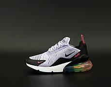 Женские кроссовки Найк Nike Air Max 270 Grey/Black . ТОП Реплика ААА класса., фото 2