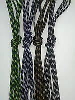Круглые шнурки для спортивной обуви (рябые) 1,2м
