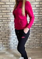 Костюм спортивный женский Nike малиновый с серым размер 44 46