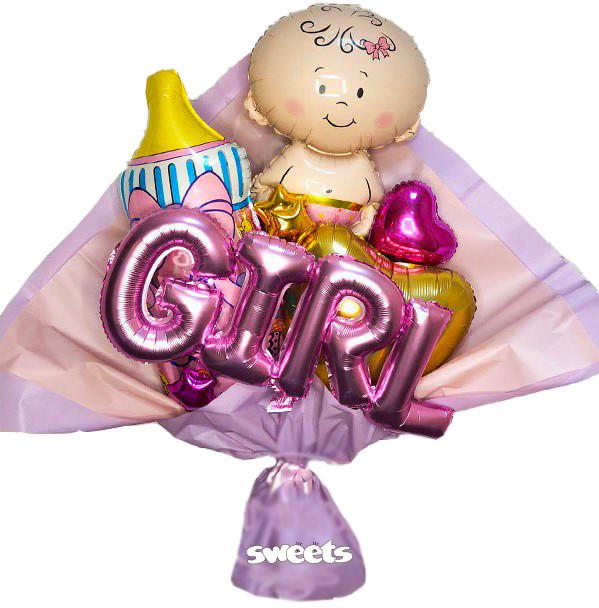 Букет «Baby Girl» XXL