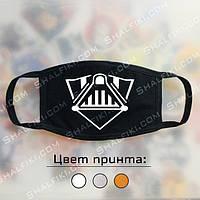 """""""Шлем Дарта Вейдера (Star Wars / Звёздные войны)"""" черная защитная маска с принтом - ВЫБЕРИТЕ ЦВЕТ"""
