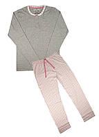 Домашній костюм GMV M Сірий, Рожевий
