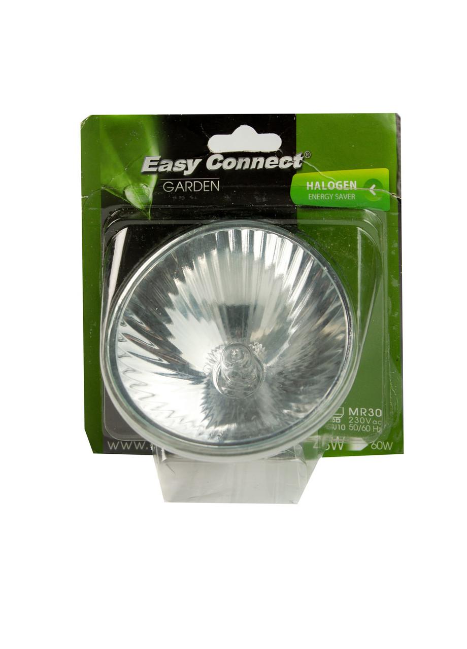 Галогенная лампа GU10 60 Вт Eco MR30 Easy Connect 9,5см Серебро, Белый