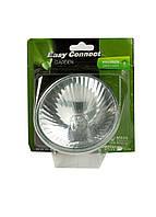 Галогенна лампа GU10 60 Вт Eco MR30 Easy Connect 9,5 см Срібло, Білий