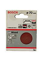 Наждачная бумага по дереву (10шт) Bosch 7см Красный