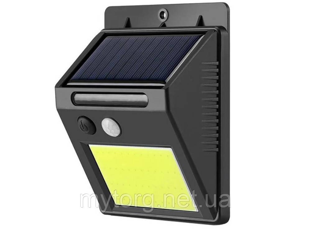 Настенный уличный светильник SH-1605-COB С датчиком движения, Солнечная батарея