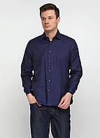 Рубашка Luca D'altieri 40 Темно-синий