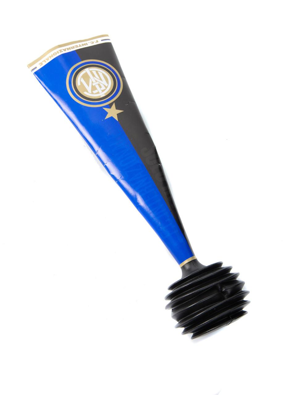 Клаксони (2шт) F. C. Internazionale 27х6,5см Синій, Білий, Чорний