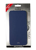 Чохол-книжка IPhone 6/6s Puro 8х16,5см Бузковий, Блакитний