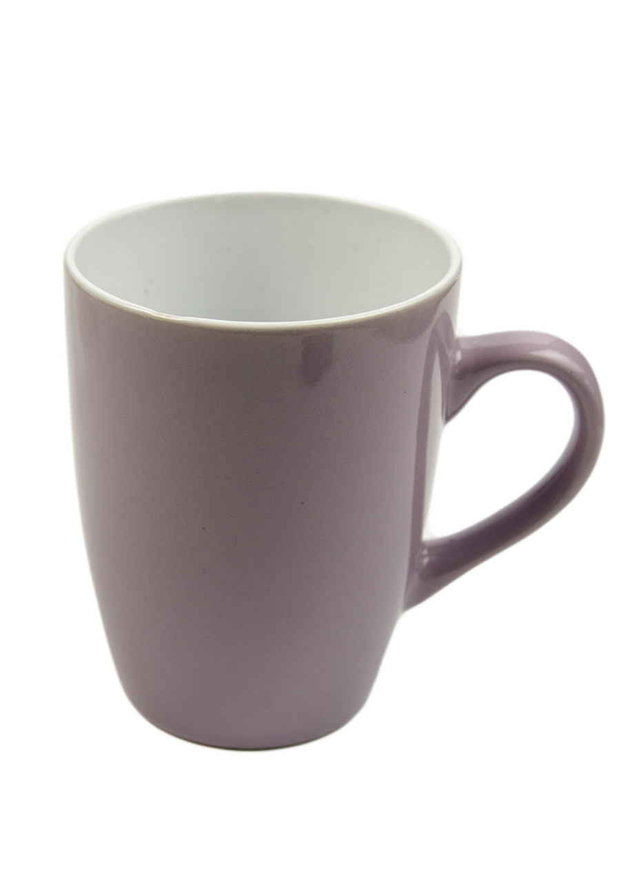 Чашка 250мл Penny 0,25л Сиреневый, Белый