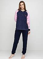 Пижама (штаны, кофта) Lee Cooper XXL Синий, Розовый, фото 1
