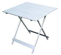 Раскладной алюминиевый стол 69х70х70см