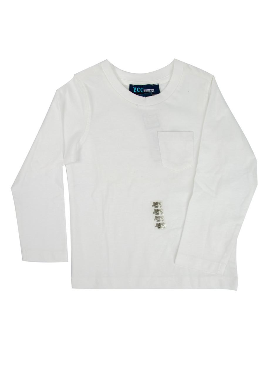 Лонгслив YCC 116см Белый