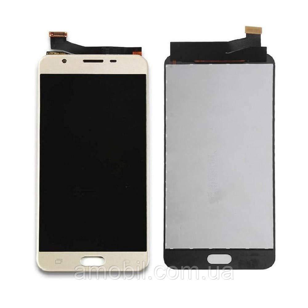 Дисплей Samsung G610 Galaxy J7 Prime / SM-G610 Galaxy On Nxt gold