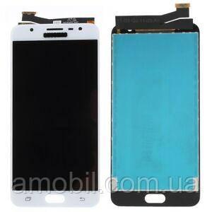 Дисплей Samsung G610 Galaxy J7 Prime / SM-G610 Galaxy On Nxt white