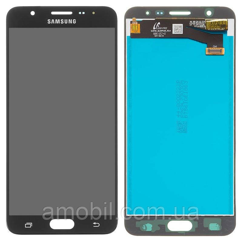 Дисплей Samsung G610 Galaxy J7 Prime / SM-G610 Galaxy On Nxt black
