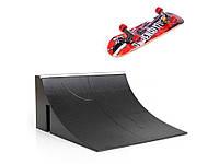 Пальчиковый скейтборд и трамплин Tech Deck B  Черный