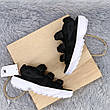 Женские сандалии\босоножки в стиле Fila Disruptor Sandals Black Черные, фото 3