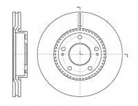 Тормозной диск передний HYUNDAI TUCSON(-2010г),i30,KIA CEE'D,MAGENTIS,пр-во ABE C30517ABE, фото 1
