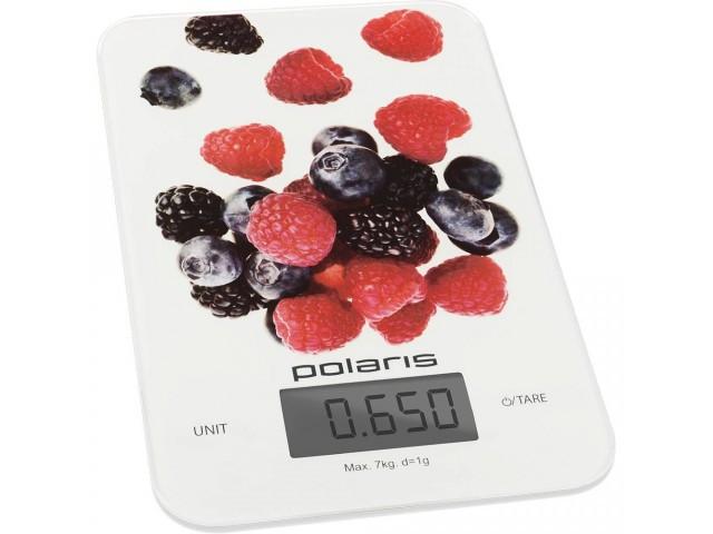 Весы кухонные POLARIS PKS 0740 DG Berries
